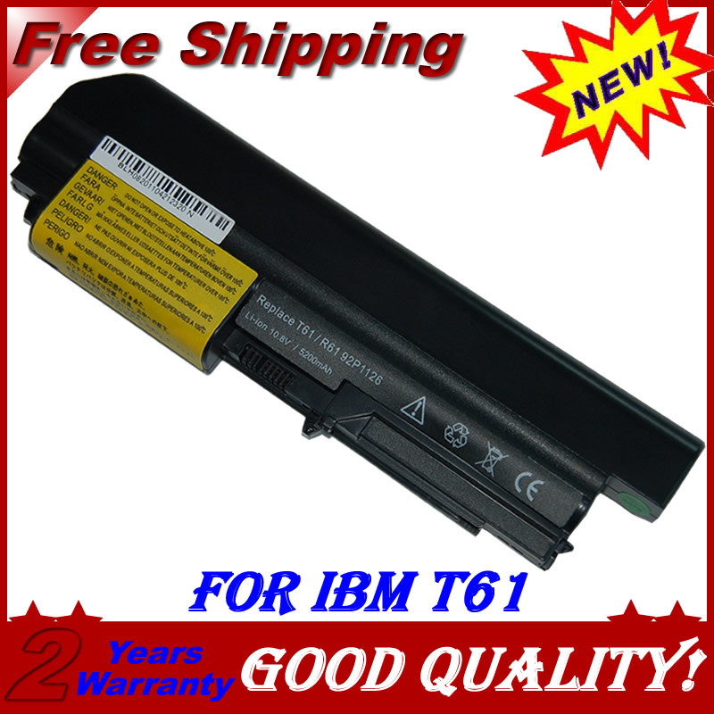 JIGU Laptop Battery For IBM lenovo ThinkPad T400 2765 R400 7443 R61 7738 T61 7661 T61