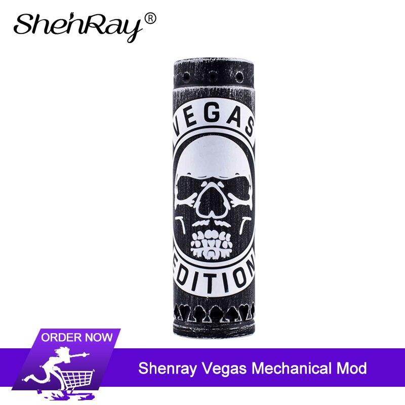 Original Shenray Vegas mécanique Mod 28mm 510 fil 20700 18650 batterie électronique Cigarettes Vape mod
