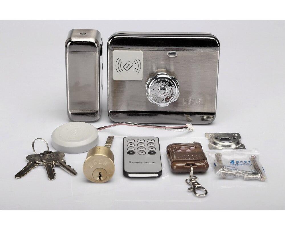 DC 12 V À Distance Programmable Serrure Électronique Avec Lecteur De Carte RFID Verrouillage Automatique Pour Système D