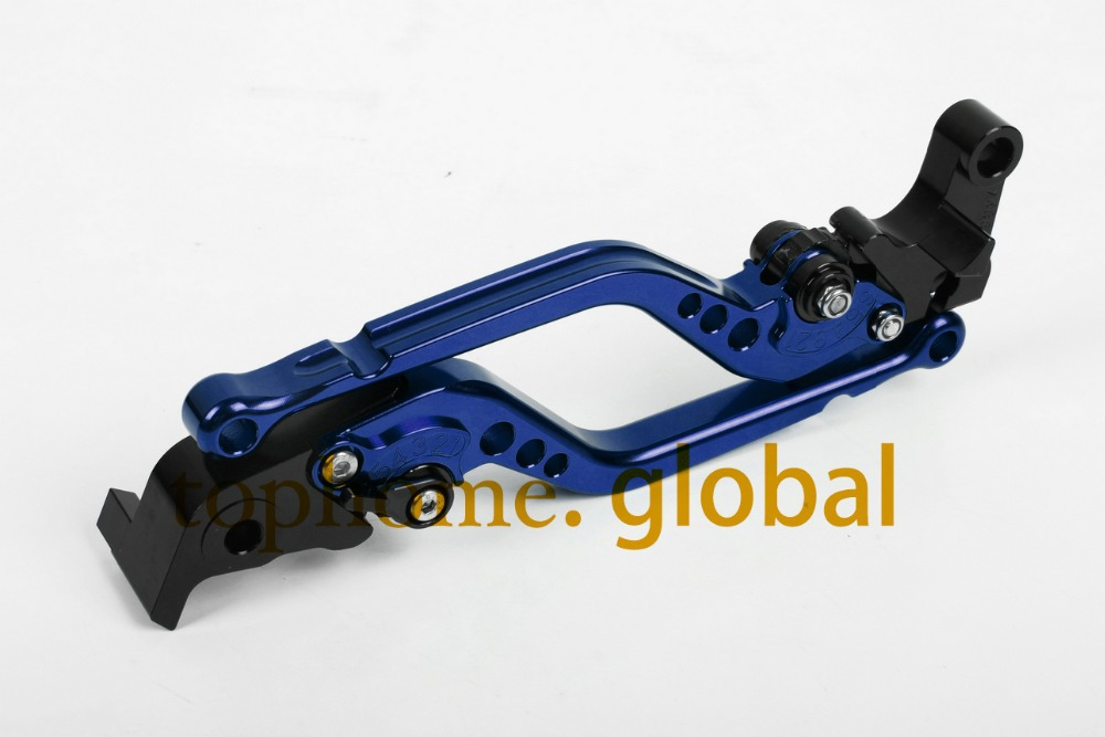 Regular Size CNC Brake Clutch Levers For <font><b>Yamaha</b></font> <font><b>TDM</b></font> <font><b>900</b></font> 2002 <font><b>2003</b></font> Motorcycle Accessories Handlebar Blue image