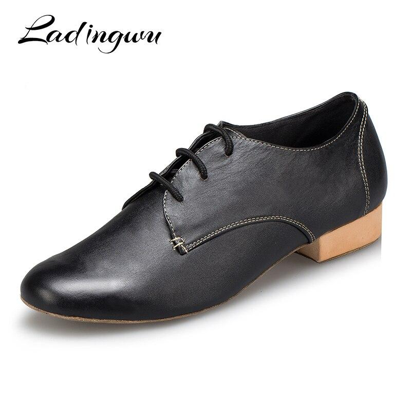 Calidad superior buscar el más nuevo oficial mejor calificado € 26.81 32% de DESCUENTO|Ladingwu 2018 zapatos de baile Salsa para Hombre  Zapatos de baile latino moderno de salón de baile de Tango zapatos de  hombre ...