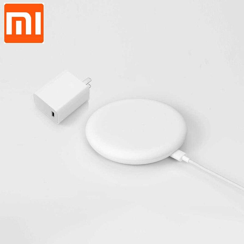 27W Plug Original Xiaomi Wireless Charger 20W Max 15V Apply to Xiaomi Mi9 MiX 2S Mix