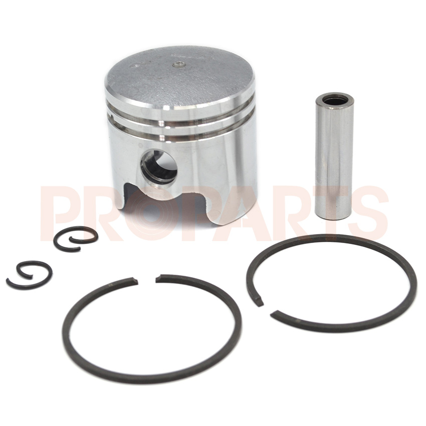1E36F 33CC CG330 TL33 Brush Cutter Grass Strimmer Engine Piston Ring Pin Clip Kit bc260 26cc brush cutter cylinder kit with piston assy piston ring for cg260 grass trimmer 1e34f 34mm engine parts