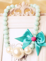 Free Shipping 2014new Beautiful Baby Spring Fashion Sweet Candy Color Big Beads Women Necklace Female Accessories