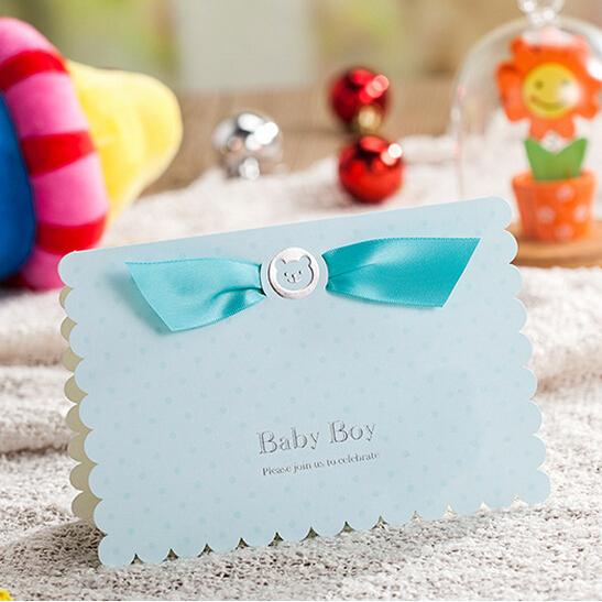 Baby Design Invitation Cards