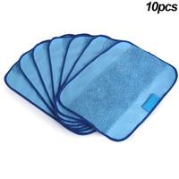 10 Pcs Microfiber Mopping Cloth Washable Reusable Mop Pads Fit IRobot Braava 380 Hogard