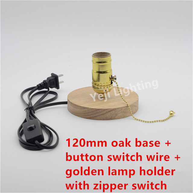 Vintage edison retro wooden lamp base with e26 lamp socket holder vintage edison retro wooden lamp base with e26 lamp socket holder and on off button keyboard keysfo Image collections
