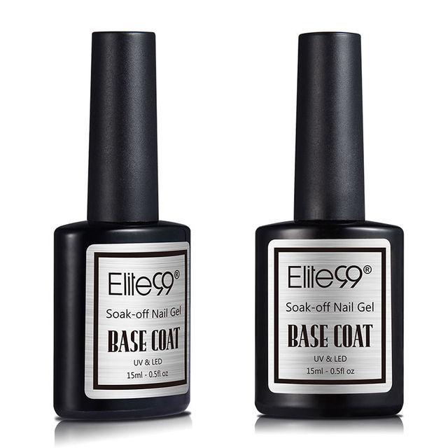 Elite99 15ml Basis Mantel UV Gel Polnischen Basis Beschichtung Für Nail art Nail art Lack Gehärtet mit UV LED lampe Lange Professionelle Basis