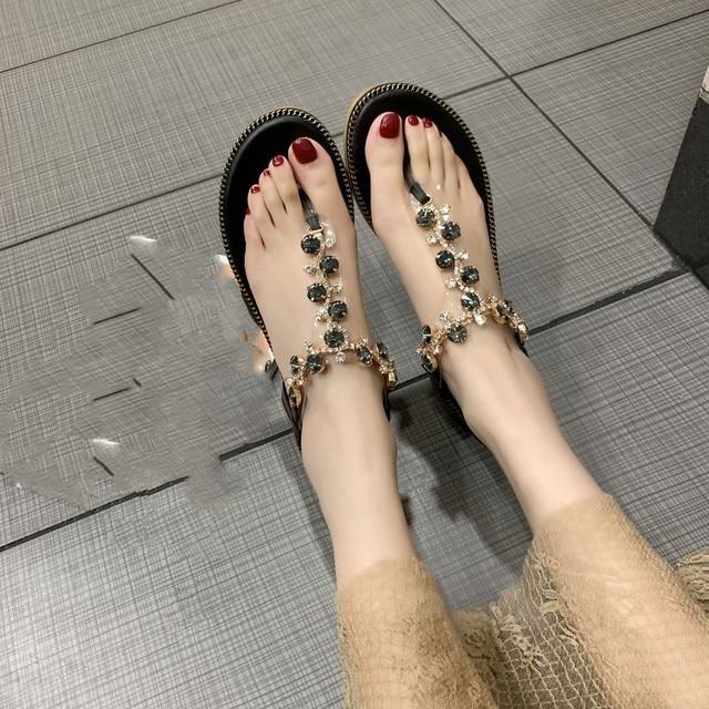 Fashion Women Sandals For 2020 Luxury Shoes Women Designers Beach Sandals Platform Ladies Shoes Light Breathable Roman Shoes 2