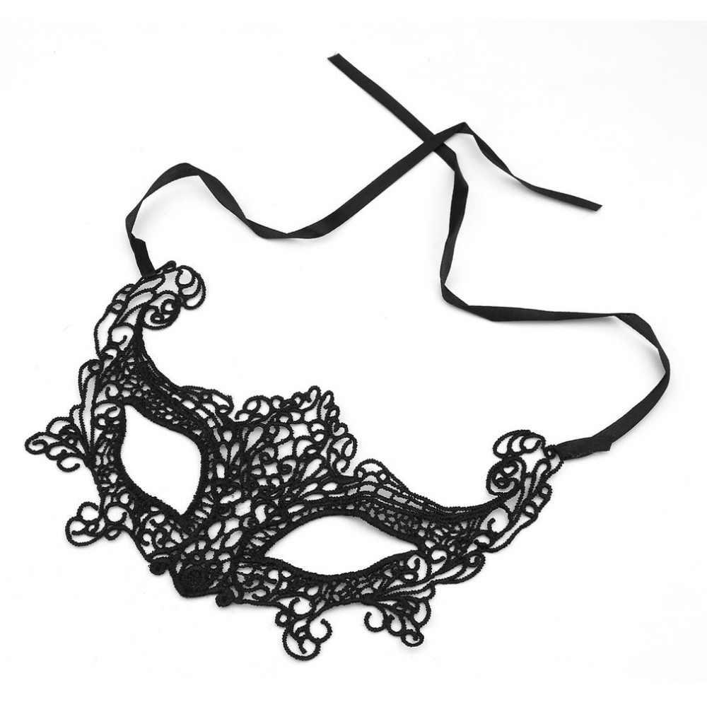 1 pcs סקסי נשים שועל/פרפר/littel כתר/elves מסיבת פנים איפור מסכת תחרה סגנון Masquerade מסכה תלבושות המפלגה סקסי קישוט