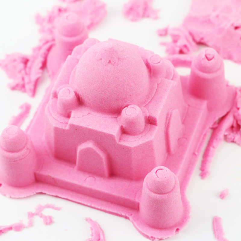 500g Dynamic Sand Set Polymer Clay Amazing Diy Plasticin Magic Play Do Dry Sands Mars Space Sand Polymer Clay For Kids