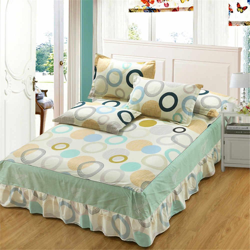Gelb grau mond sterne bettwäsche bed rock 3 stücke weiche kissenbezug doppel einzel volle twin schutz abdeckung Elastische matratze kid
