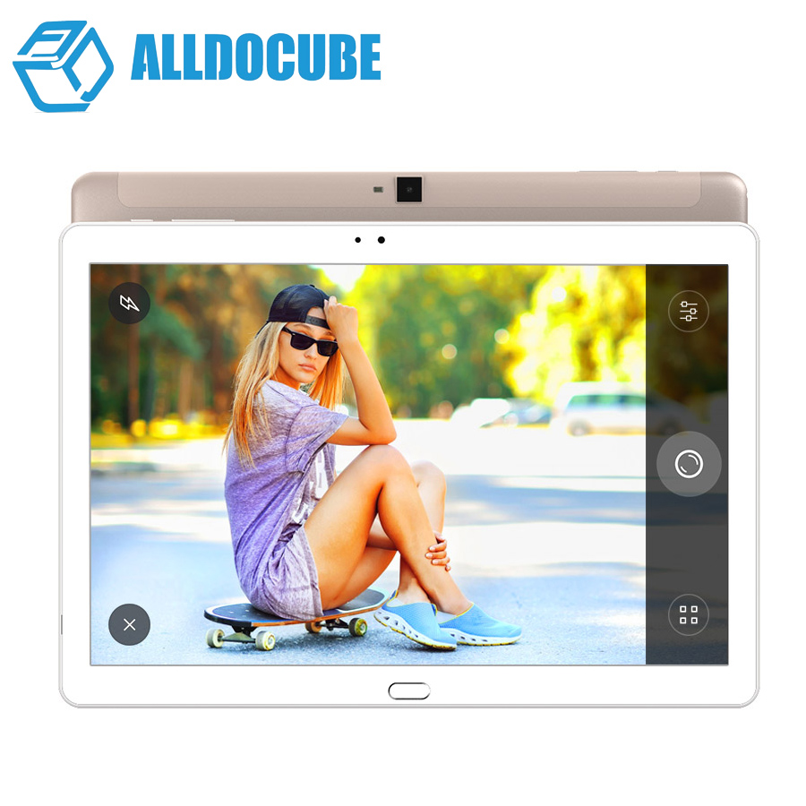 Original Cube T10 Dual 4G Phone Tablet PC 10.1'' IPS 1920x1200 Android 6.0 MT8783 Octa Core WCDMA Bluetooth Dual Camera 2GB/32GB