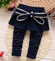 (1piece /lot) 100% cotton 2016 Polka Dot  bow pant  for baby girl 0-3 year old ,73.80.90.100cm