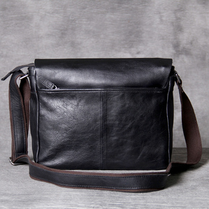 Image 2 - AETOO คลาสสิกหัว cowhide ชาย Postman Bag กระเป๋าหนังไหล่ Crossbody กระเป๋า