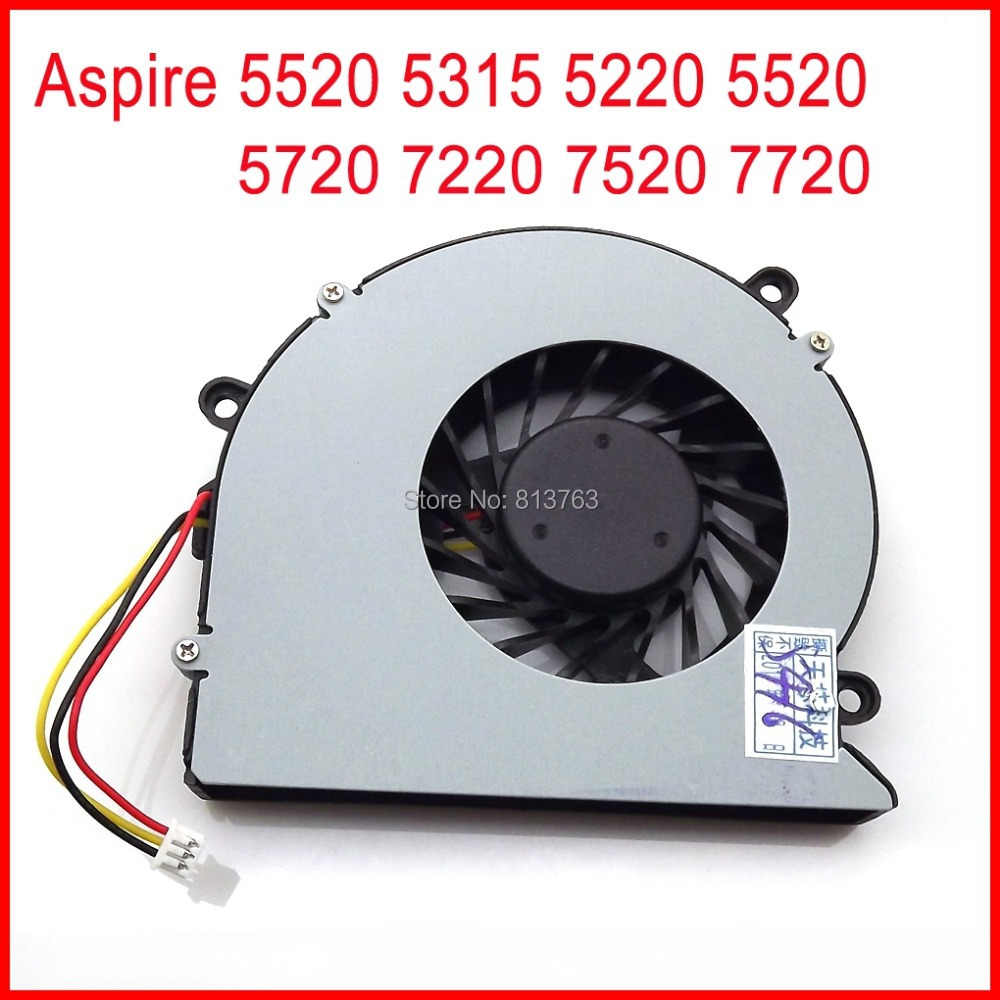 NewAB7205HX-GC1/AB7805HX-EB3 Cooling Fan For Acer ASPIRE 5520 5315 5220 5220G 5310 5310G 5720 7220 7720 7520 CPU Cooling Fan