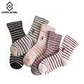 [COSPLACOOL] las Nuevas mujeres del algodón calcetines calientes personalizado bordado del patrón del oso calcetines rayas meias calcetines de invierno de buena calidad