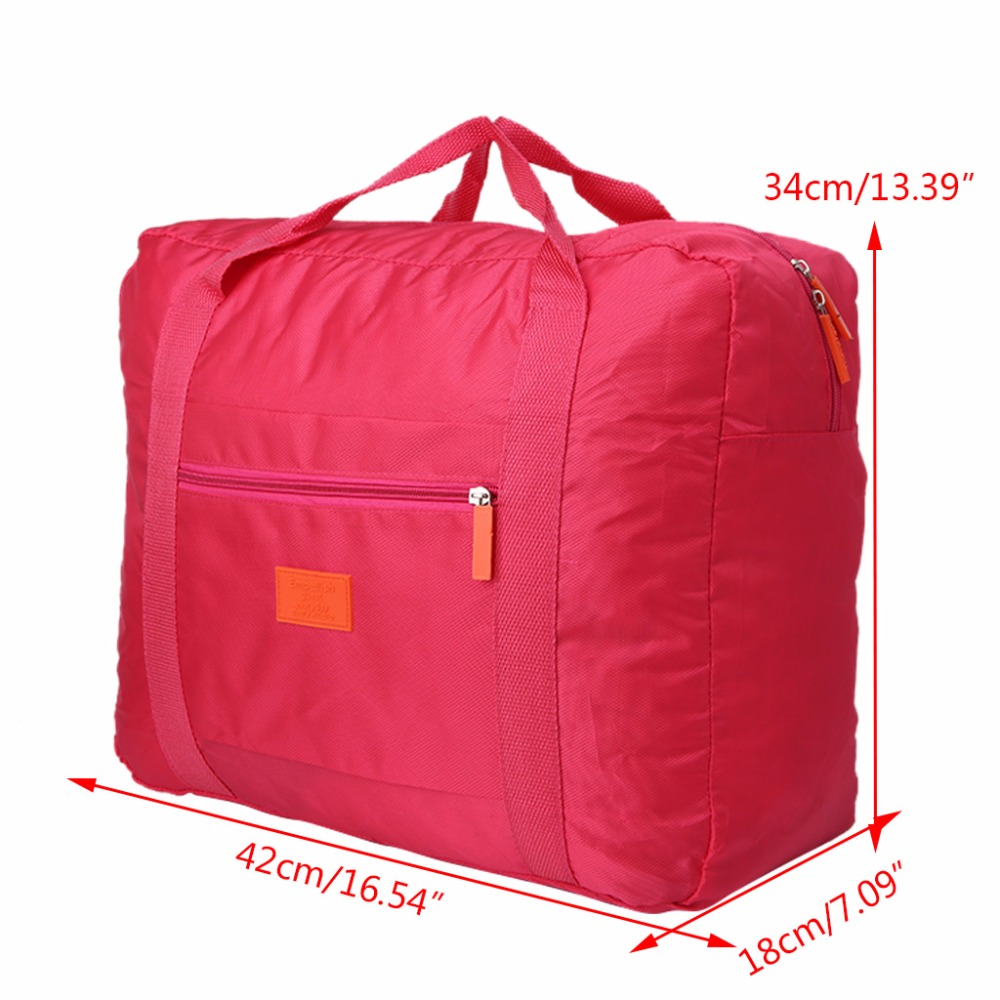 THINKTHENDO Portable Travel Foldable Luggage Bag Clothes Storage Carry-On Bags Big Size Organizer New With Large Capacity