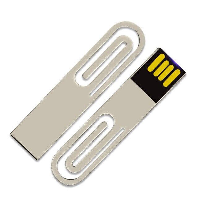 Metal USB Flash Drive 4GB Pendrive 8GB 16GB 32GB Flash Drive 64GB 128GB Memory stick Real Capacity U Stick For Notebook