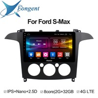 for Ford S Max 2007 2008 Android 8.1 Unit Car radio stereo Multimedia Player Auto dvd GPS Navigator Entertainment Intelligent PC
