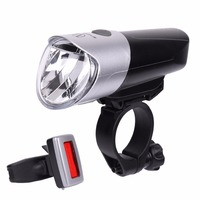 WHEEL UP USB Rechargeable Bicycle Lights Super Bright Front Light Tail Light Set 5 Modes Waterproof
