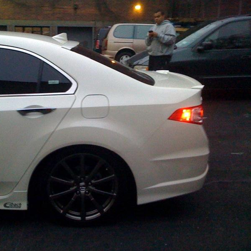 Use for acura tsx spoiler 2009 2012 tsx lip spoiler high quality use for acura tsx spoiler 2009 2012 tsx lip spoiler high quality abs material car rear wing primer color spoiler for acura tsx in underwear from mother sciox Images