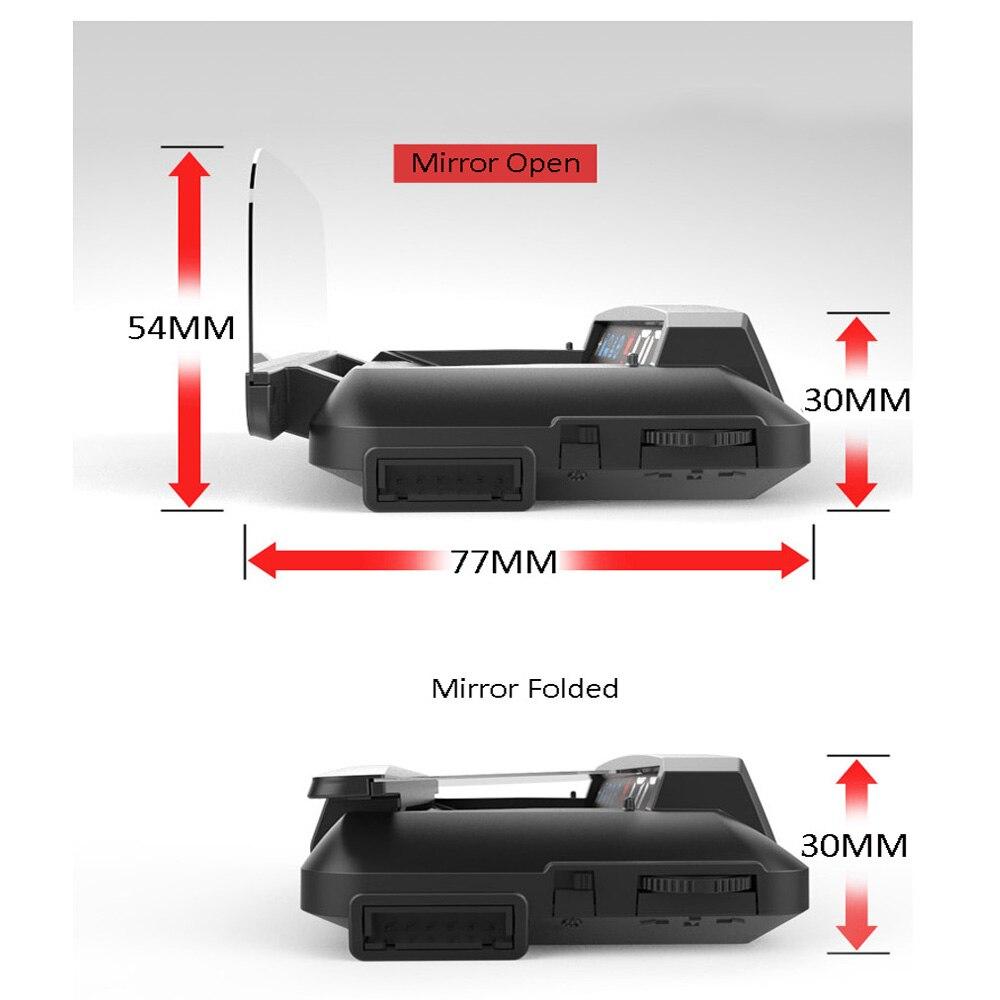 EANOP зеркало HUD Дисплей Авто HUD OBD2 elm327 автомобиля Скорость проектор Скорость ometer автомобиля детектор KMH KPM