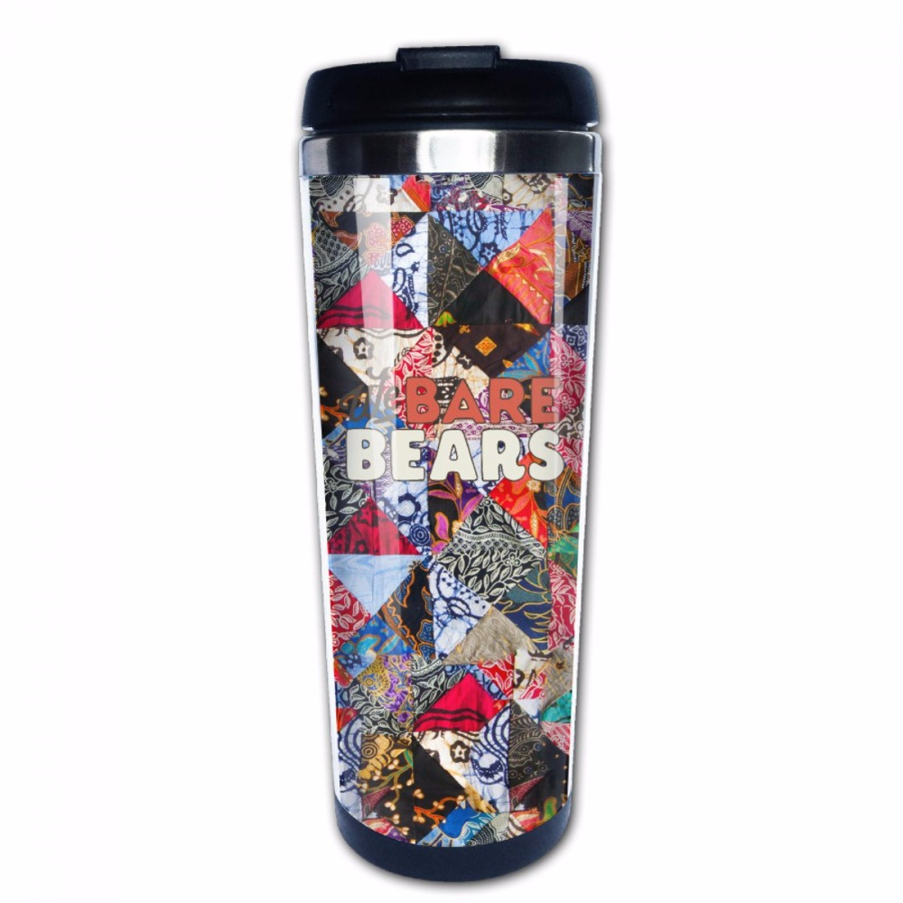 Fine Cute Travel Coffee Mugs We Bare Bears Mug Stainless Steel On Insidechina Mainland U In Design Inspiration