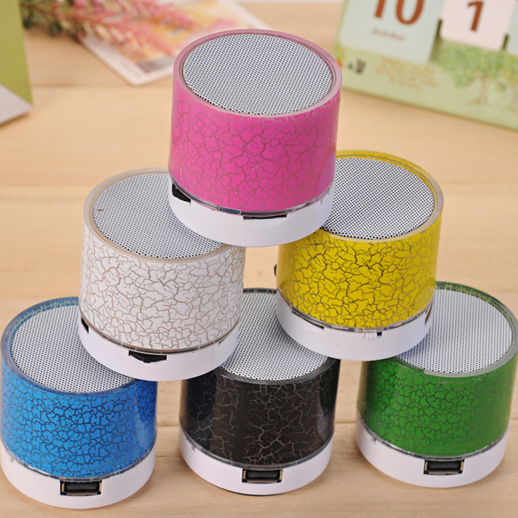 Car Styling Bluetooth Car kit Music Speaker Wireless Rainbow LED Light Hands free Sound Box Car Accessories Accept Card U Disk in GPS Accessories from Automobiles Motorcycles