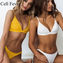 Sexy Bikinis Set Women 2 pcs Swimsuit Sexy Push Up Brazilian Micro Bikini Swimming Bathing Suit Beachwear Summer Swimwear 2019 цена в Москве и Питере