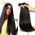 Rosa Hair Products Peruvian Straight Virgin Hair 4pcs Unprocessed Peruvian Virgin Hair Straight 7a peruvian Hair Weave Bundles
