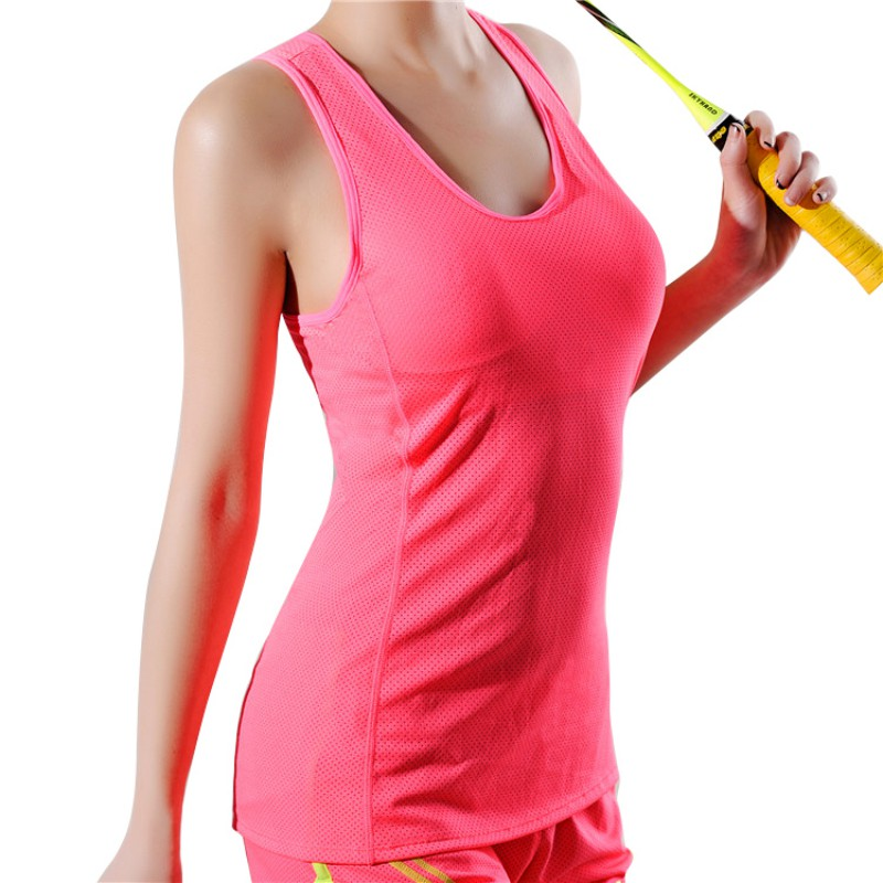 women 39 s sexy sleeveless yoga sport tank top vest sexy women quick dry loose gym fitness yoga. Black Bedroom Furniture Sets. Home Design Ideas