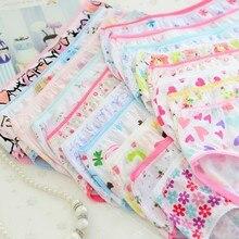 Dětské dívčí kalhotky s tenkou gumičkou a různými obrázky 6 ks v balení