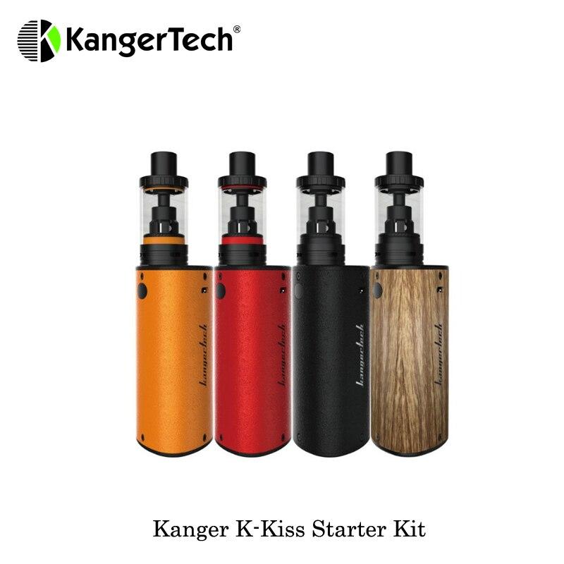 цена на 6300mah Electronic Cigarette Kanger K-Kiss Starter Kit With K-Kiss Sub-Ohm Tank 24mm Tank Diameter 4.5mL Vaporizer Cigarette