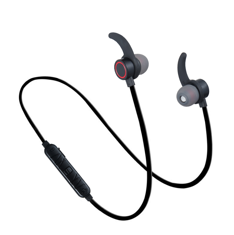 YCH-11Wireless Bluetooth Headphone Ear Mount Ear Plug Sport Stereo with Microphone Call Connection xiao mi Apple Samsung Phone