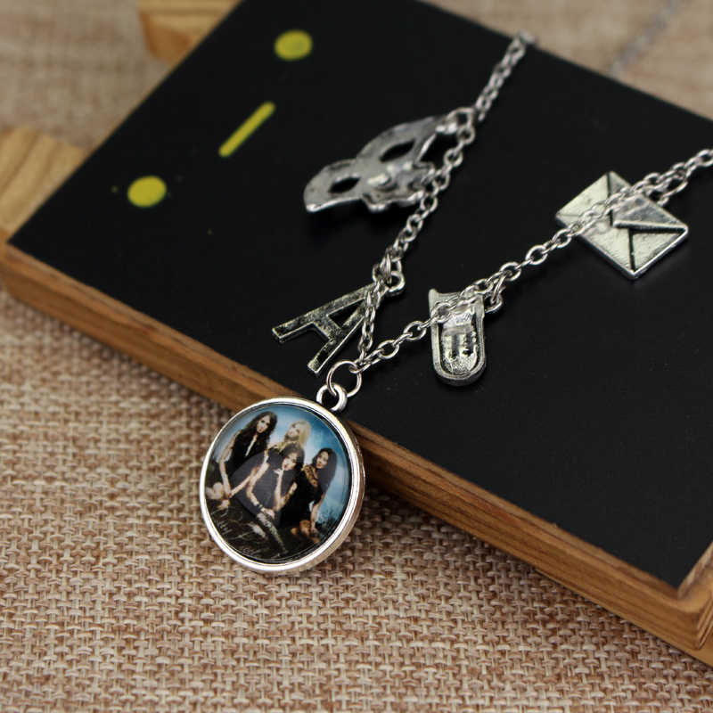 Pretty Little Liars แรงบันดาลใจ Got A Secret Can You Keep It-Bronze จี้ Charm สร้อยคอสร้อยคอ Boho ผู้หญิงผู้ถือ
