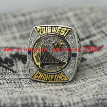 2016 Golden State GSW Warriors West Championship Basketball Copper Ring 7 15Size MVP CURRY