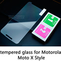 Glossy Lucent Frosted Matte Anti glare Tempered Glass Protective Film Screen Protector For Motorola Moto X Style XT1570 XT1572