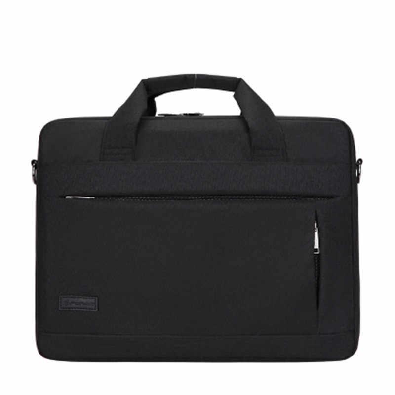SHUJIN Grande Capacidade Portátil Bolsa Para Homens Mulheres Viajar Sacos Maleta Bussiness Notebook 14 15 Polegada Macbook Pro PC Dell