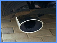 High Quality Stainless Steel Car EXHAUST MUFFLER SILENCER EXHAUST PIPE For Honda Accord 2008 2012