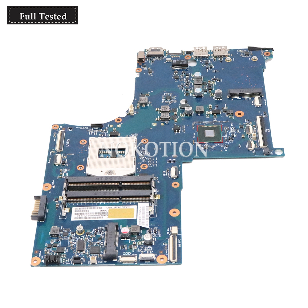 NOKOTION 720265 501 720265 001 For HP Envy 17 J Loptap Motherboard 6050A2549501 MB A02 Main