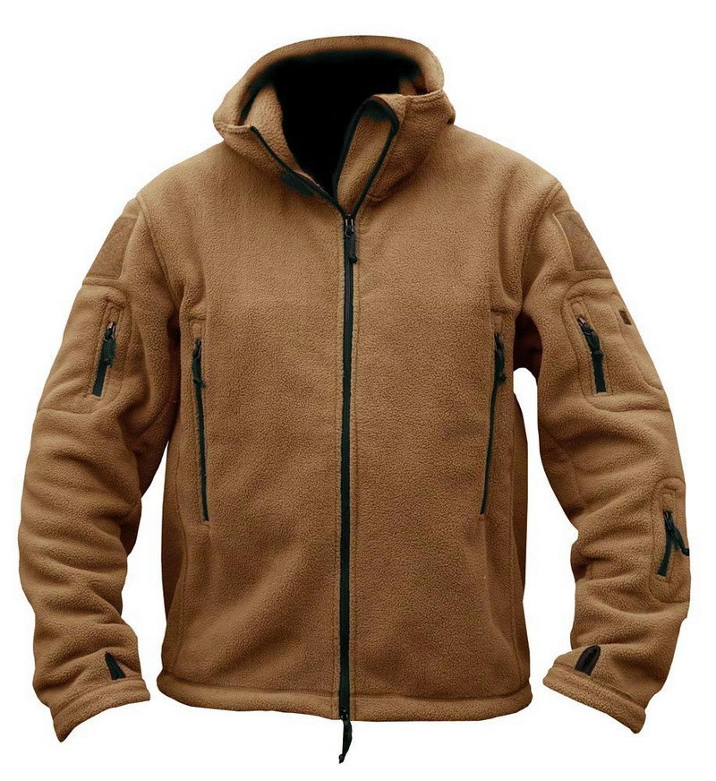 tactical jacket brown