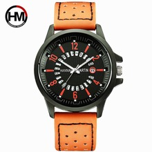 Hanna Martin 2019 Watch Men Fashion Sport Quartz Clock Top Brand Luxury Business Waterproof Mens Watches Relogio Masculino