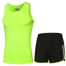 T-Shirts Shorts-Sets Sportwear Running-Clothing Gym Fitness Men Reflective-Design Quick-Dry