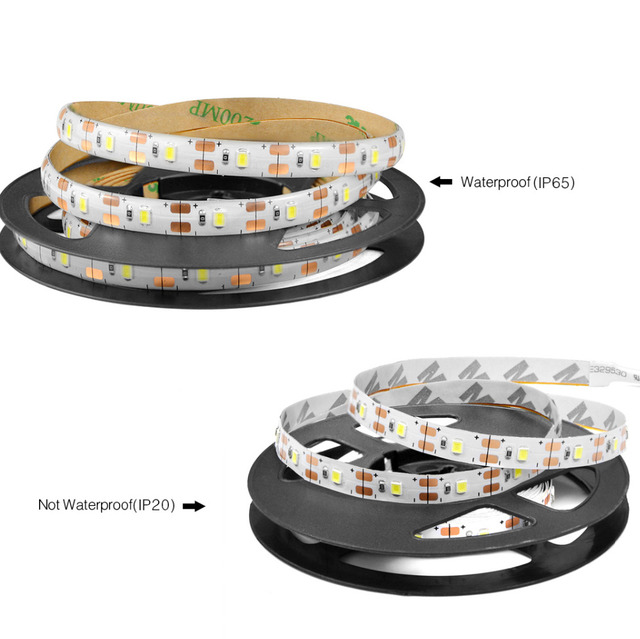 LED Cabinet light DC 5V Dimmable LED Strip SMD 2835 Waterproof Flexible TV PC Backlight Kitchen LED lamp with RF Remoter Dimmer