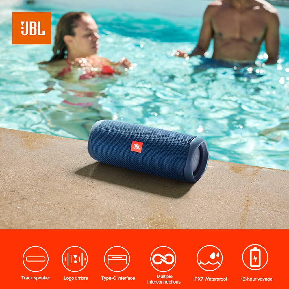 JBL Flip 5 altavoz portátil Bluetooth Mini altavoces inalámbricos impermeables música estéreo emparejamiento USB carga al aire libre viajes fiesta