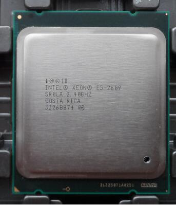 Original E5 XEON E5 2609 V2 E5-2609V2 2609V2 (2.5 GHZ/10 MB/80 W/4C) FCLGA2011 TPD 80 W Processador CPU Entrega um dia