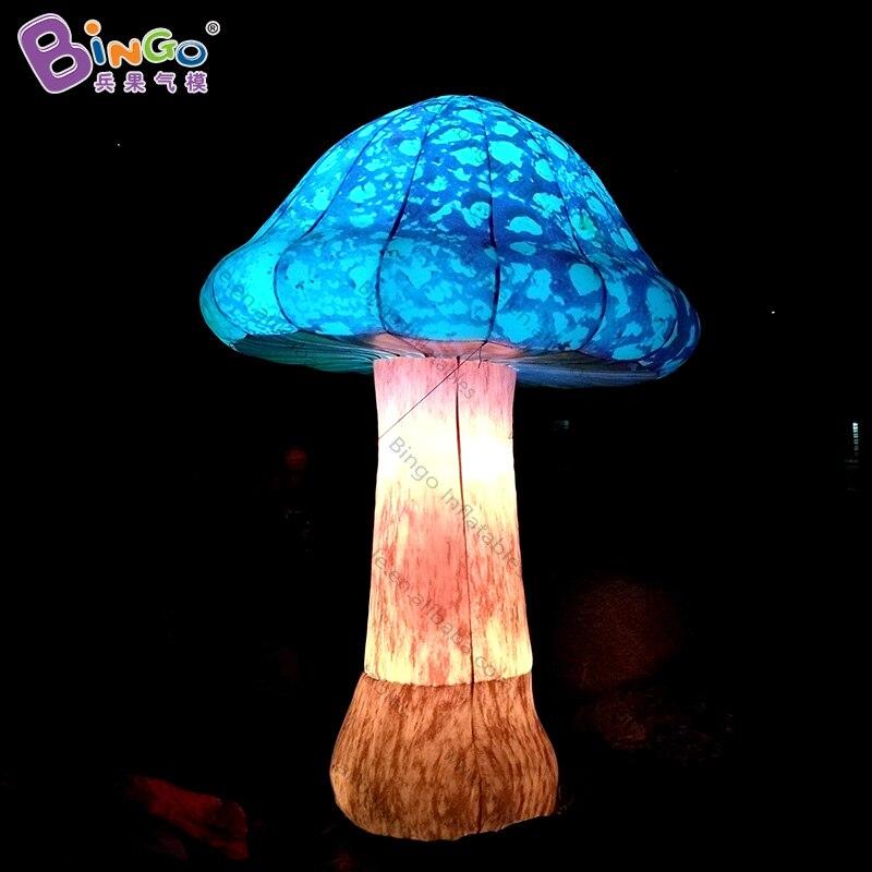 2018 горячая Распродажа светодиодный светильник надувной гриб модель для сцены реквизит заказной яркий гриб шар для вечерние украшения игру...