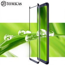 TOMKAS 3D Edge Tempered Glass for Samsung Galaxy S8 S8Plus