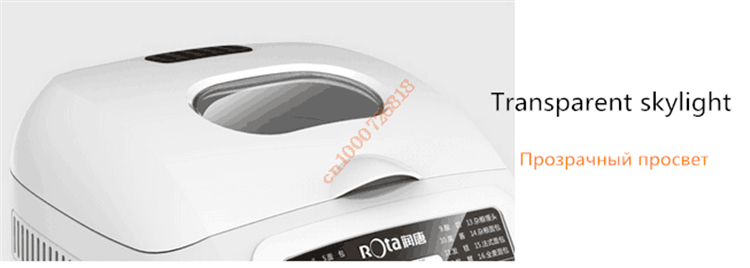 220V Full-automatic Electric Multifunctional Bread Machine Bread/Yogurt /Cake /Steamed Bread Maker Dough Mixing Dough Fermenting
